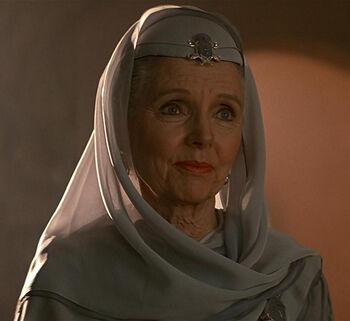 Amanda Grayson in 2286