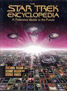 Star Trek Encyclopedia, first edition hardback cover