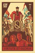 Star Trek The Q Conflict 1 cover RI A