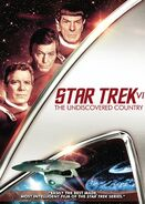 Star Trek VI The Undiscovered Country 2009 DVD cover Region 1