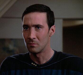 Bruce Maddox in 2365