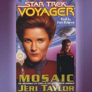 Mosaic audiobook cover, digital edition