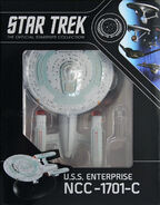 Star Trek Official Starships Collection USS Enterprise-C repack 10