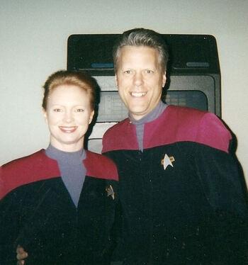 Henley and husband Keith Rayve
