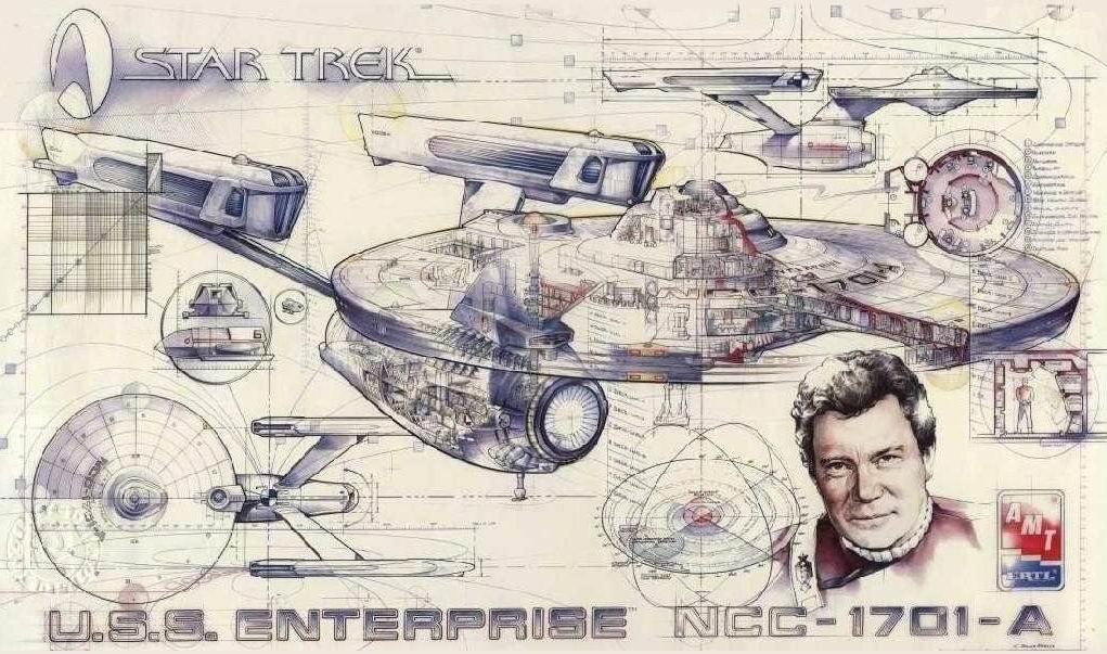 AMT 1995 30th anniversary cutaway poster USS Enterprise-A.jpg