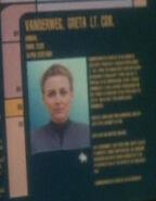 Greta Vanderweg personnel file