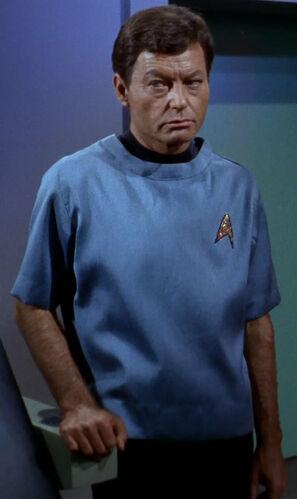 Doctor McCoy in 2266