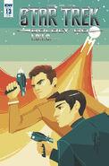 Star Trek Boldly Go, issue 13 RIB