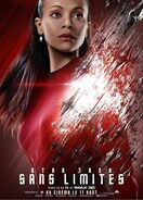 Star trek sans limites, uhura corrigée