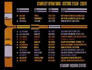 Starfleet Mission Status, 2010 auction version