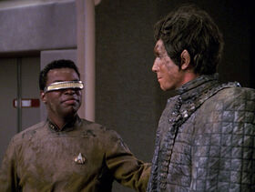 Bochra and La Forge covered in mud.jpg
