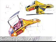 Star Trek The First Adventure, spacecraft concept