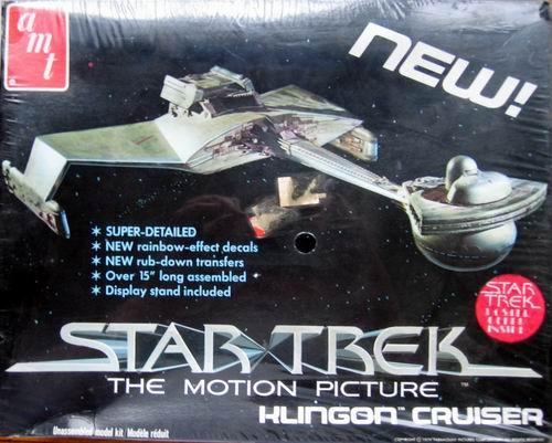 AMT Model kit S971 Klingon Battle Cruiser 1979.jpg