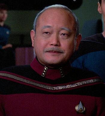 ...as Vice Admiral Nakamura
