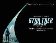 Star Trek Discovery Season 2 Michael Burnham banner