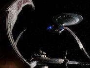 Enterprise D docked at DS9-R