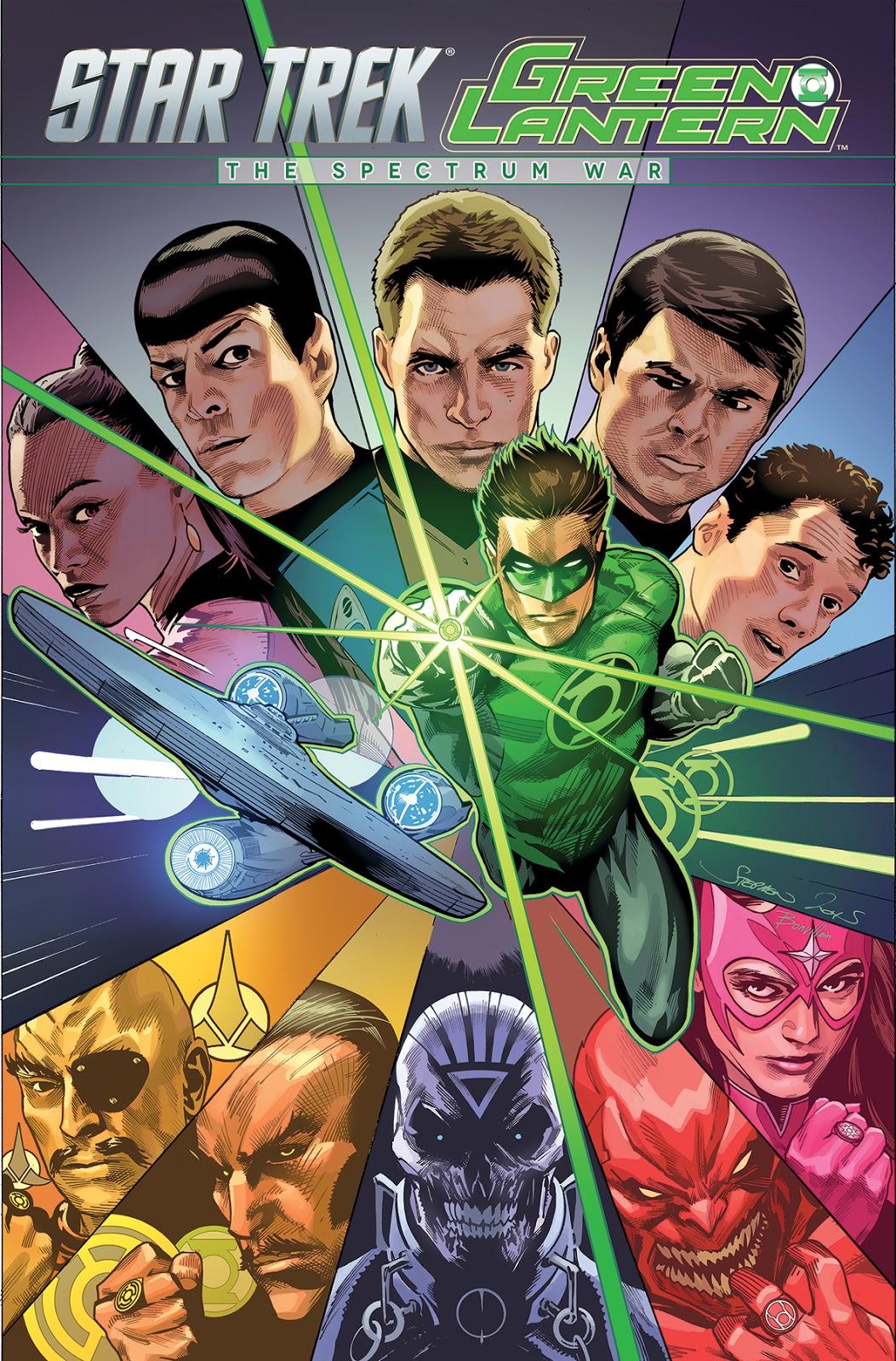 Star Trek - Green Lantern: The Spectrum War (omnibus)
