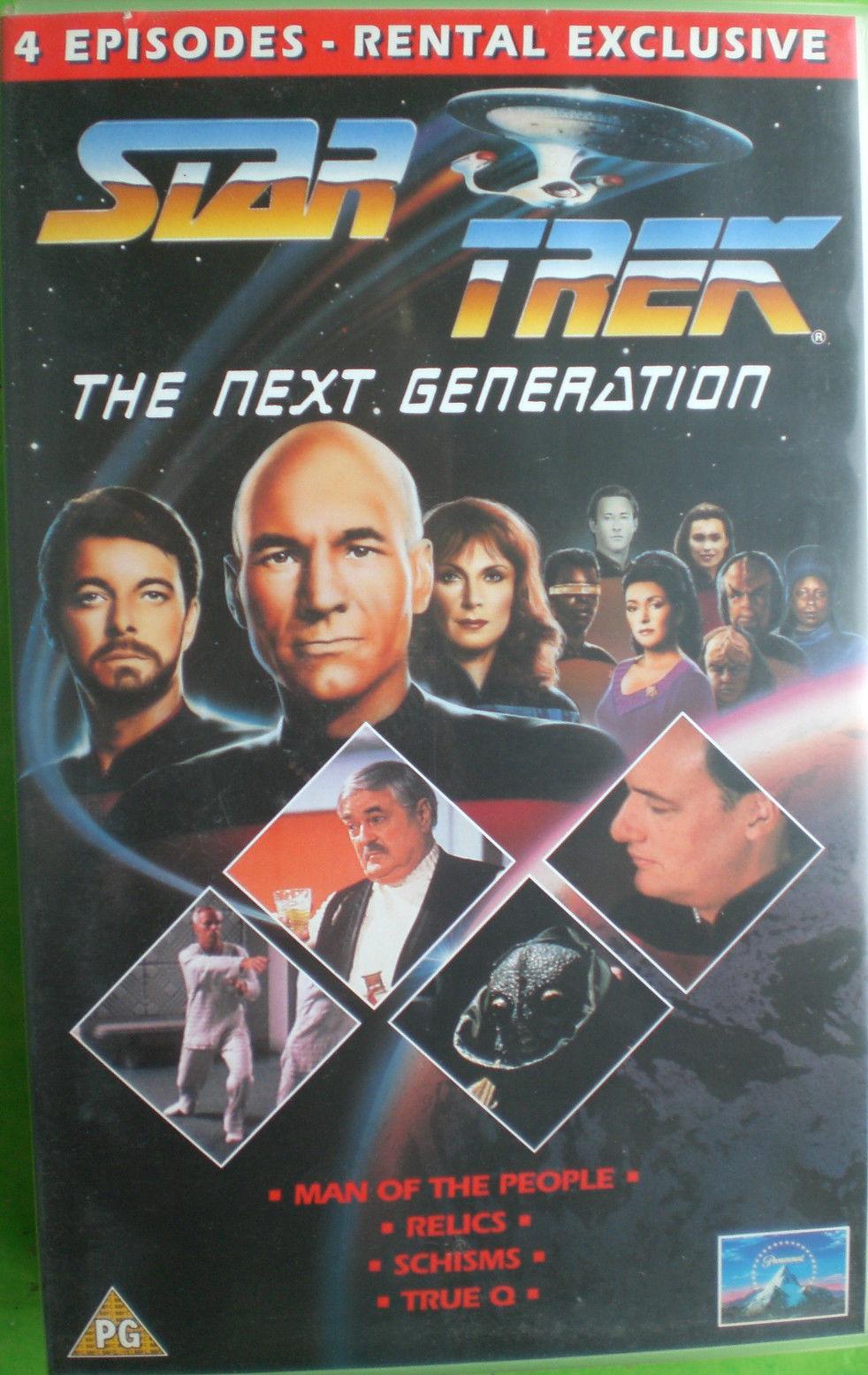 TNG Season 6 UK VHS