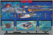 USS Enterprise cutaway poster