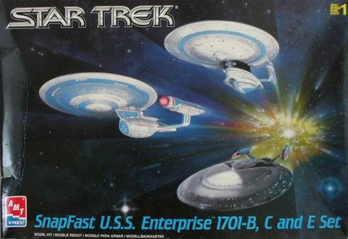 AMT Model kit 3-piece USS Enterprise Set 1999.jpg