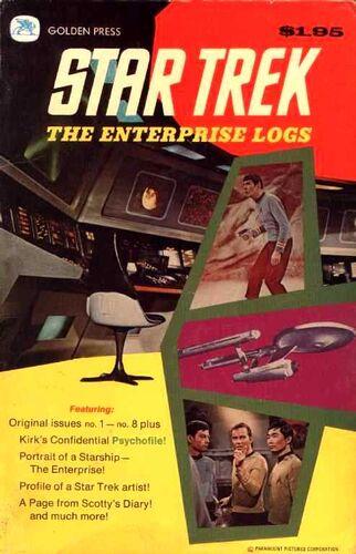 Cover of Book 1, Enterprise Log 1