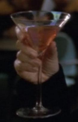 Klingon martini