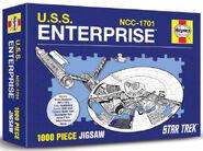 USS Enterprise Owners Workshop Manual puzzle box cover