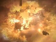 Borg-Kubus Zerstörung