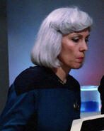 Enterprise-D lieutenant commander, 2364