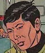 Hikaru Sulu, Gold Key comics