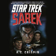 Sarek abridged audiobook cover, digital edition