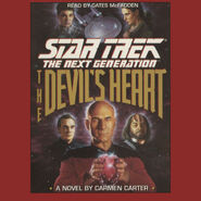 The Devil's Heart audiobook cover, digital edition