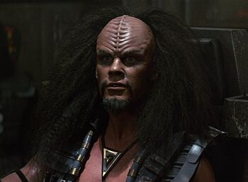 Captain Klaa in 2287