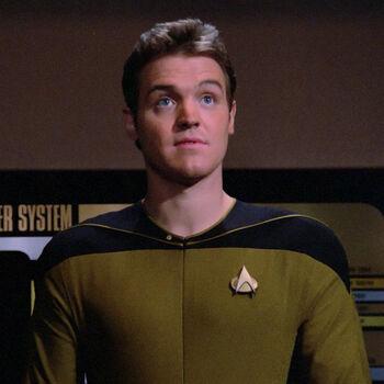 ...as Ensign Herbert
