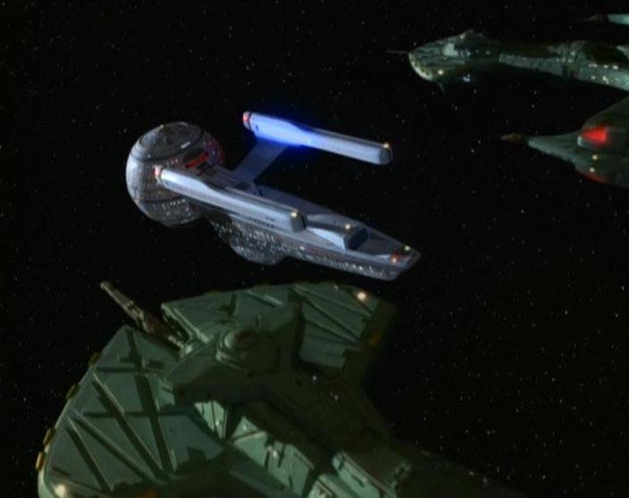 Unnamed Negh'Var warships