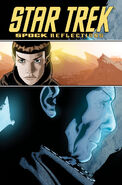Spock Reflections tpb cover