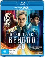 Star Trek Beyond Blu-ray 3D Australian Region B cover