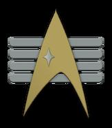Starfleet admiral insignia (Barash's illusion)