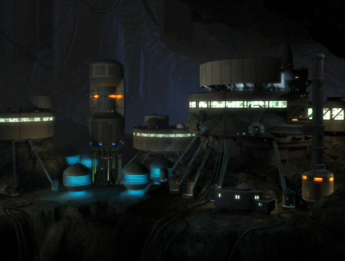 Talaxian asteroid colony