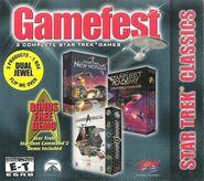 Gamefest Star Trek Classics cover 3 games