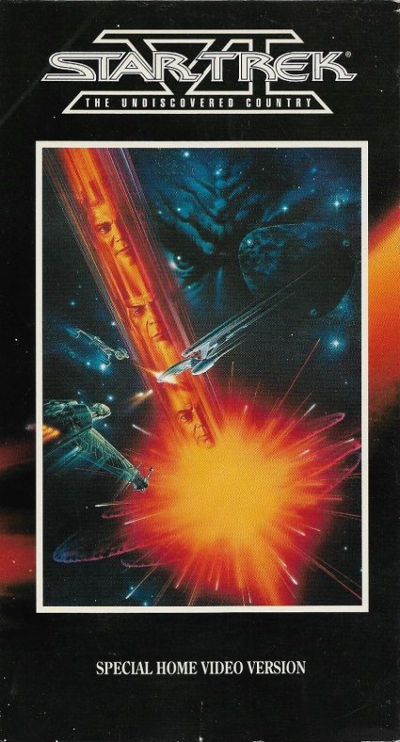 Star Trek VI: The Undiscovered Country (VHS)