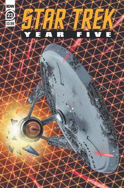 Star Trek Year Five issue 23 cover A.jpg
