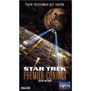 Star Trek premier contact (VHS)