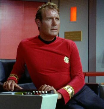 Stocker in command of the USS Enterprise