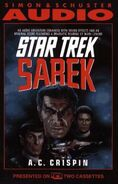 Sarek abridged audiobook cover, US cassette edition