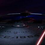 USS Reliant feuert Phaser auf USS Enterprise im Mutara-Nebel.jpg