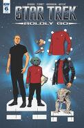 Star Trek Boldly Go, Issue 6 RI-B
