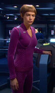 T'Pol's casual uniform, purple