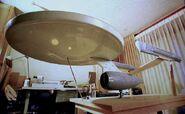 USS Enterprise Phase II Modell