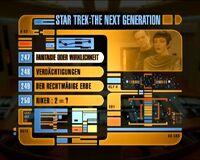 DVD-Menü TNG Staffel 6 Disc 6